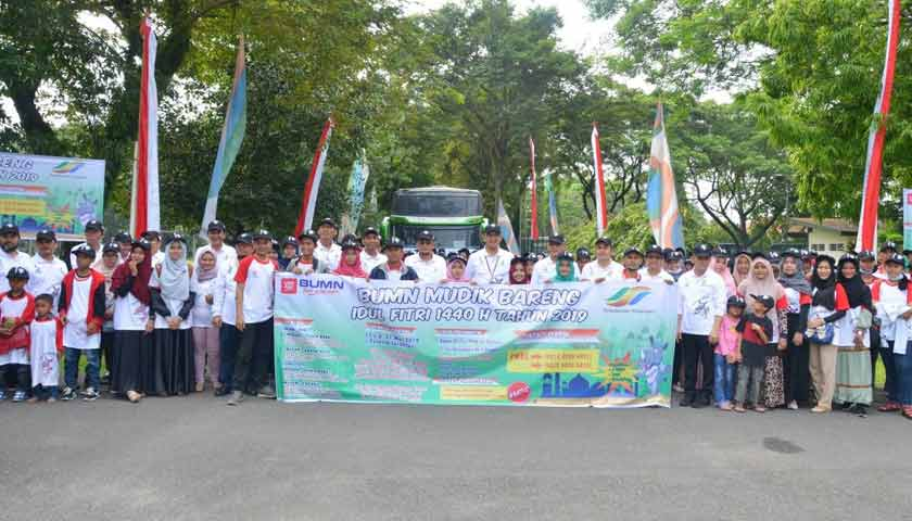 Ptpn Iii Berangkatkan 735 Warga Mudik Gratis Ke Banda Aceh Pekanbaru Dan Padang Topmetro News