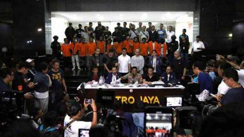 Rusuh di Jakarta, Polda Metro Amankan 257 Pelaku