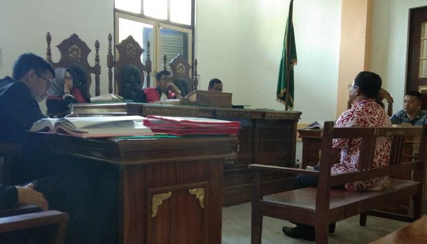 Berbelit, Hakim Tegur Saksi Korupsi Tugu Mejuah-juah