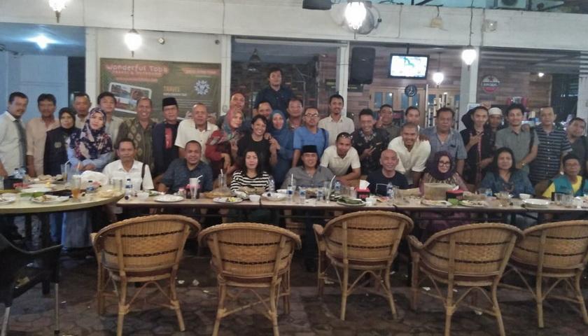 Wartawan Unit DPRD Medan Buka Puasa Bersama