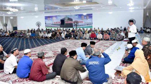 Gubsu Edy Rahmayadi Buka Puasa Bersama 300 Abang Becak di Rumah Dinas