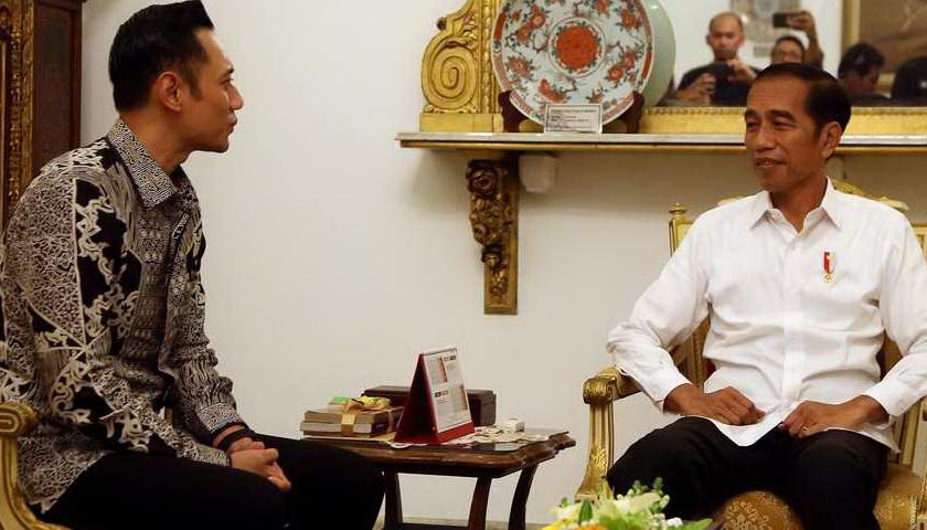 Pertemuan Jokowi dengan AHY untuk Menguatkan Silaturahmi