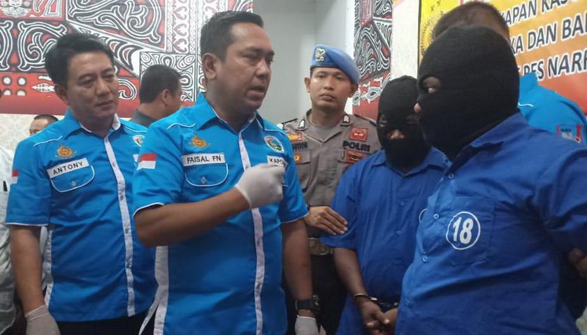 Polres Asahan Tembak Kurir Narkoba, Sita Sabu dan Pil Ekstasi