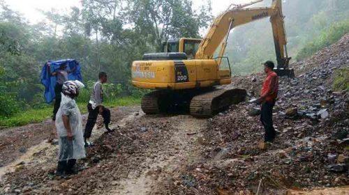 Lalulintas Medan-Aceh Lumpuh Total, Subulussalam Longsor
