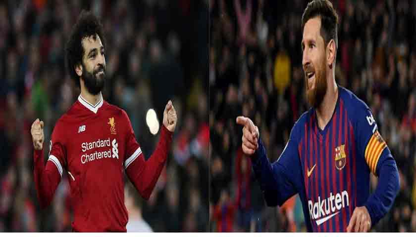 Lionel Messi Minta Barcelona Gaet Mohamed Salah