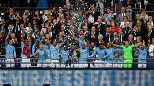 Manchester City Juara Piala FA 2018/19 Usai Mencukur Watford 6-0