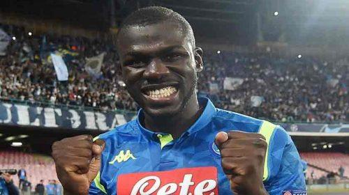 Napoli Tolak Tawaran Rp1,7 Triliun Manchester United untuk Koulibaly
