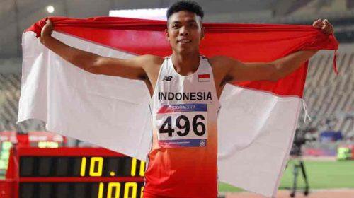 Waw!! Lalu Muhammad Zohri Lolos ke Olimpiade Tokyo 2020