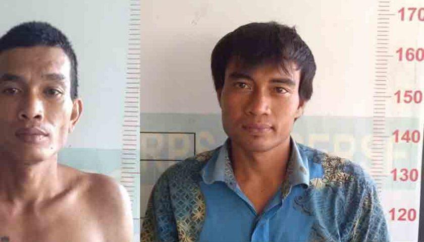 2 Pencuri Kelas Teri 'Gol' Terpaksa Lebaran di Penjara, Dibekuk Polsek Kutalimbaru