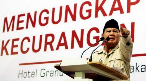Klaim Curang, Prabowo dan BPN Diyakini tak Memiliki Data Valid