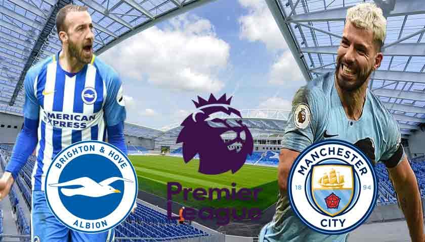 Prediksi Brighton Hove Albion vs Manchester City Minggu 12 Mei 2019
