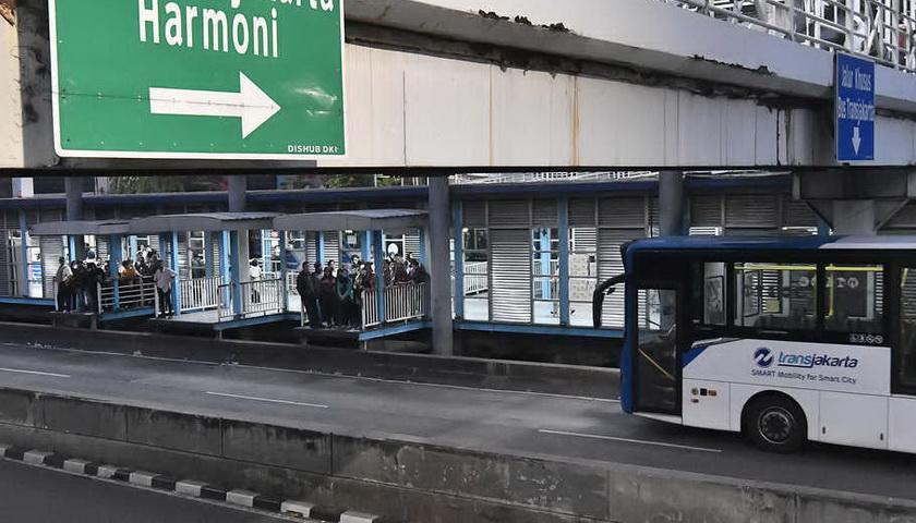 Jalanan di Jakarta Sudah Normal, Warga Kembali Beraktivitas