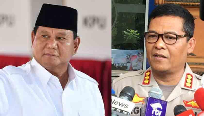Polda Metro Jaya Tarik SPDP Prabowo Subianto