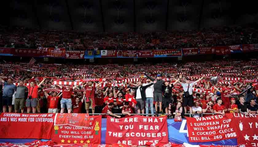 Suporter Liverpool Sempat Bersorak Menyangka Klubnya Juara Liga Inggris