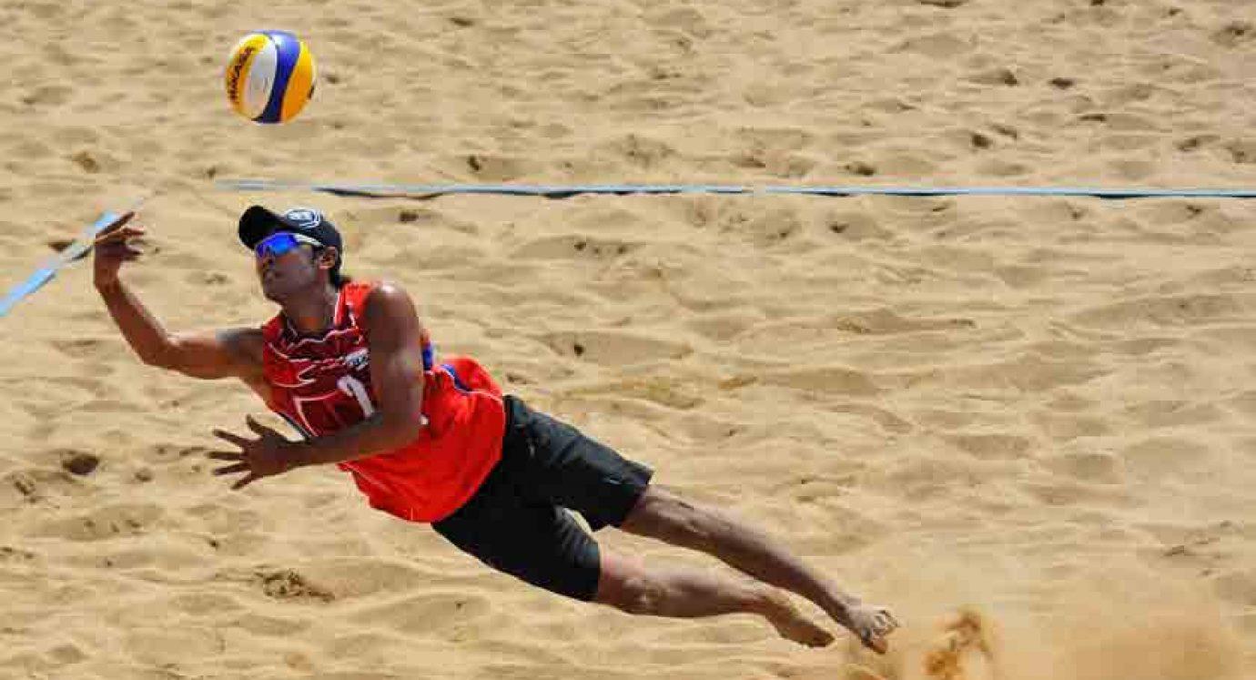 Bola Voli Pantai Satgas Indobatt XXIII M Sapu Bersih Medali