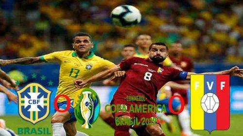 Brasil Ditahan Venezuela Tanpa Gol di Copa America 2019