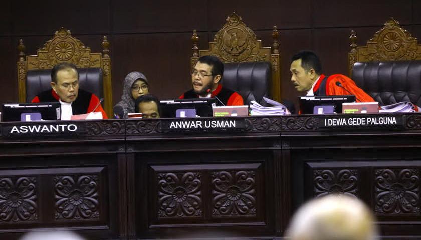 MK Bantah Adanya Ancaman Terhadap Hakim Konstitusi