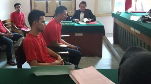 2 Terdakwa Kurir 1 Kg Sabu Asal Aceh Mulai Diadili