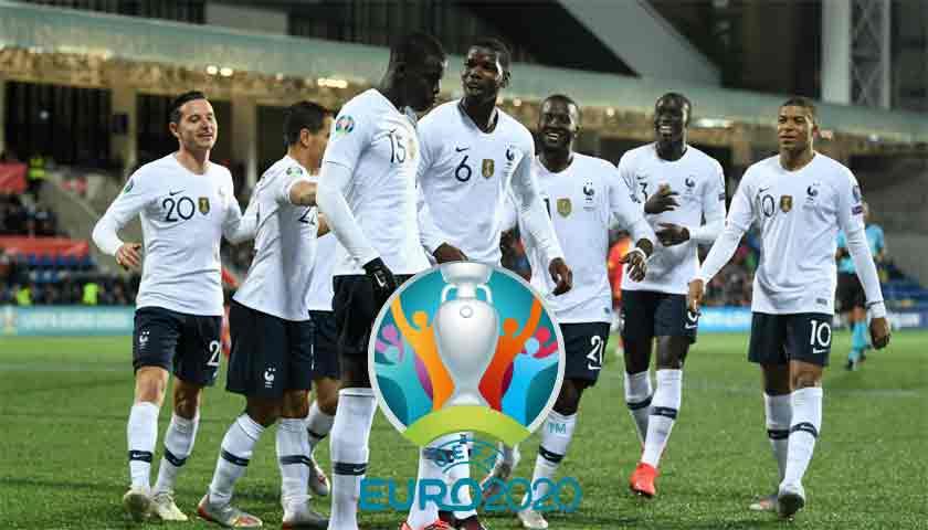 Hasil Kualifikasi Piala Eropa 2020: Prancis Permak Andorra 4-0