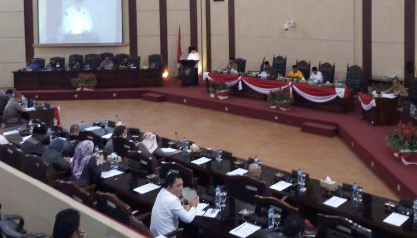 Walikota Medan Sampaikan LPJ ke DPRD, Akui SILPA Rp67,31 M