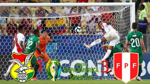 Peru Ngamuk Sikat Bolivia 3-1 di Copa America 2019