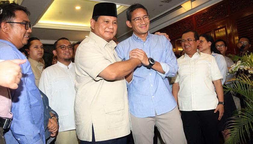 Prabowo Ucapkan Terima Kasih kepada Partai Pendukung