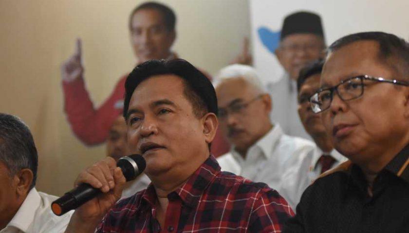Tim Hukum Jokowi Fokus Jawab Gugatan Prabowo yang Diajukan 24 Mei