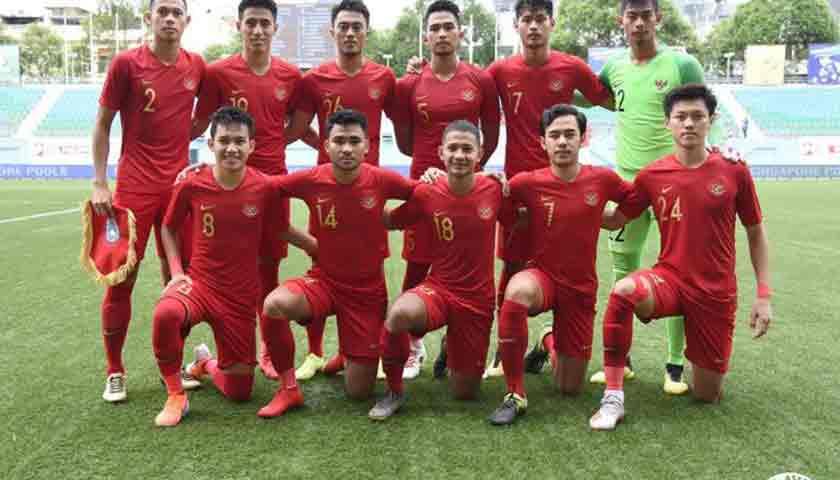 Timnas Indonesia U-23 Berada di Tempat Ketiga Merlion Cup 2019