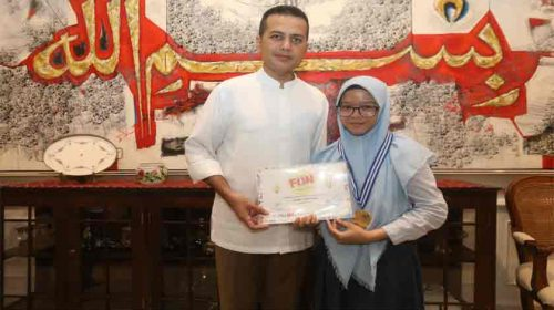 Wagubsu Beri Apresiasi Untuk Sang Juara Indonesian Fun Science Award