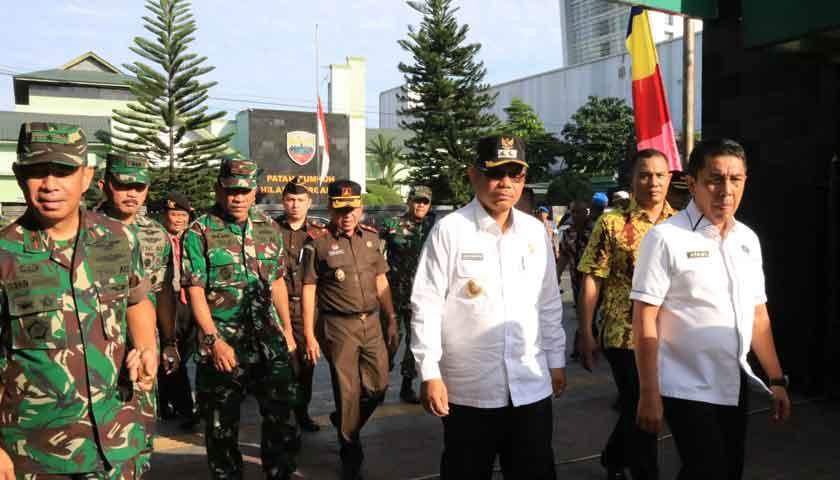 Wakil Walikota Medan Hadiri Apel Konsolidasi Berakhirnya Operasi Ketupat Toba 2019