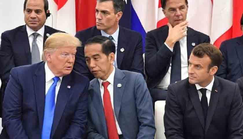 Jokowi Undang Donald Trump ke Indonesia, Warga Senang Hati Menyambutnya