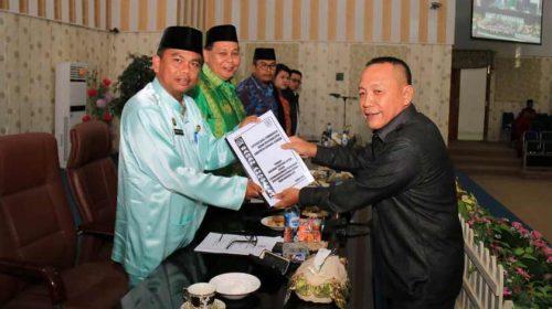 Dua Ranperda Sergai Disetujui DPRD Untuk Dijadikan Perda