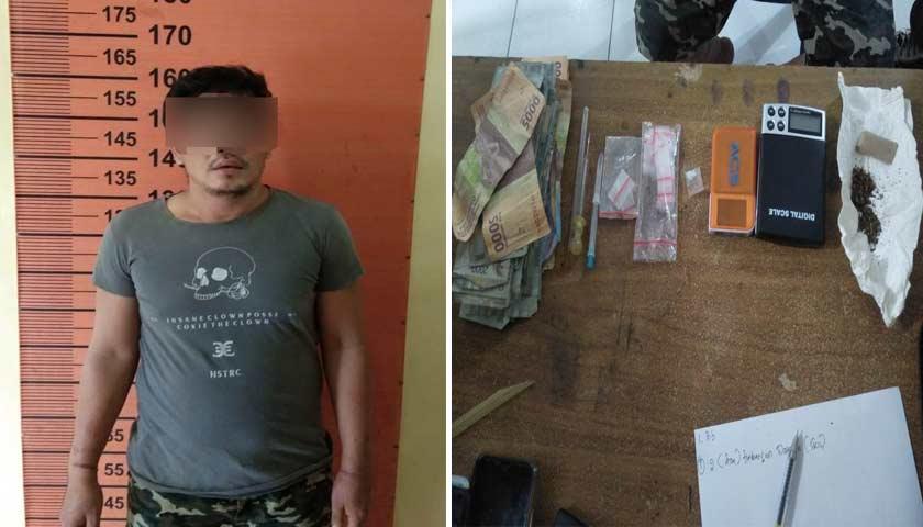 Gerebek Kampung Narkoba di Pancurbatu, Polisi Amankan Pengedar Sabu dan Ganja