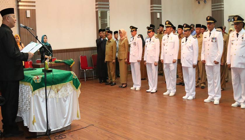 Dilantik Walikota, Ini 33 Pejabat Baru Struktural dan Fungsional di Pemko Medan