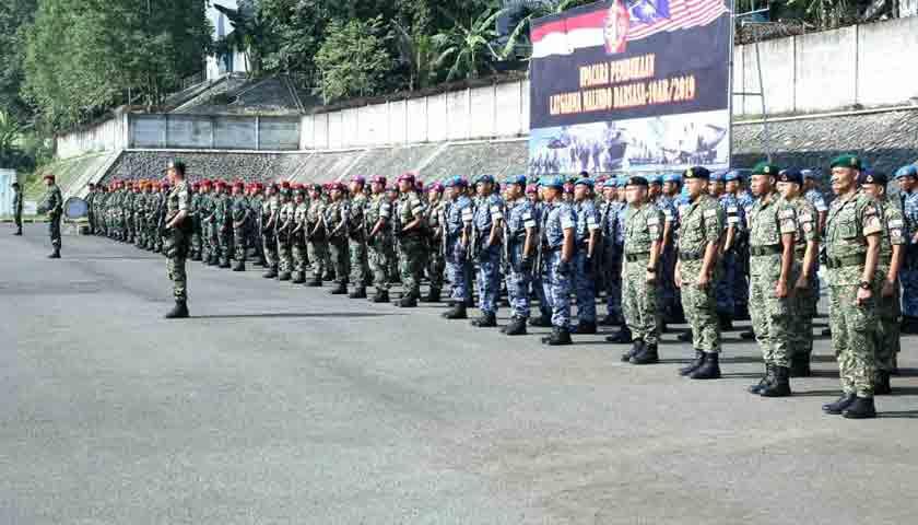 Asops Panglima TNI: Latgabma Malindo Darsasa Tingkatkan Kerjasama Keamanan Perbatasan