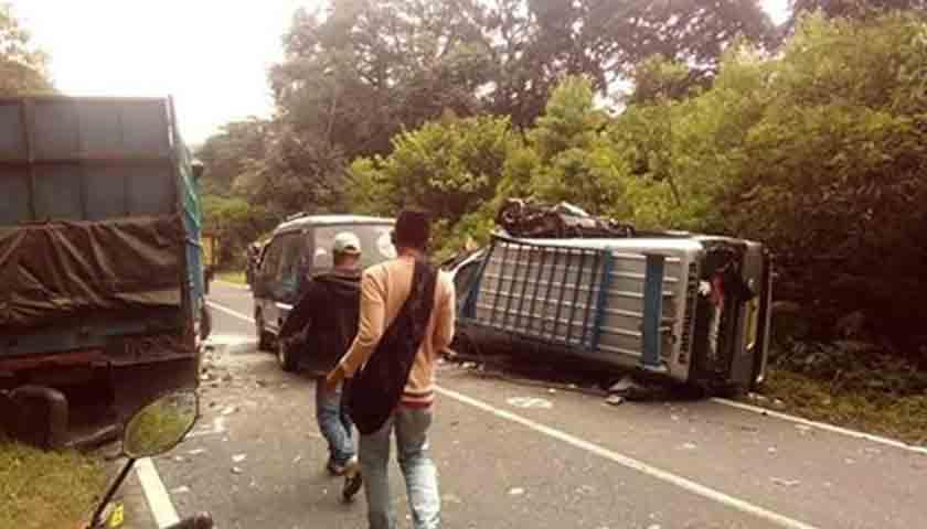 Kronologis Kecelakaan Maut di Dairi, 1 Tewas, 35 Luka-luka