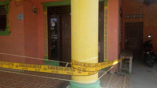 Rumah Seorang Janda di Delitua Dilempari Bom Molotov