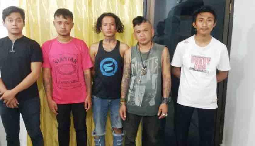 Udut Sinaga Tewas Dikeroyok, Polisi Bekuk 5 Pelaku