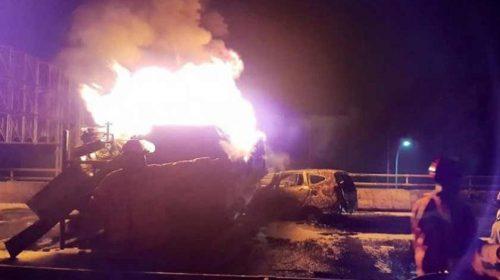 Truk Tangki Pertamina Terbakar di Tol Dalam Kota, 3 Orang Tewas