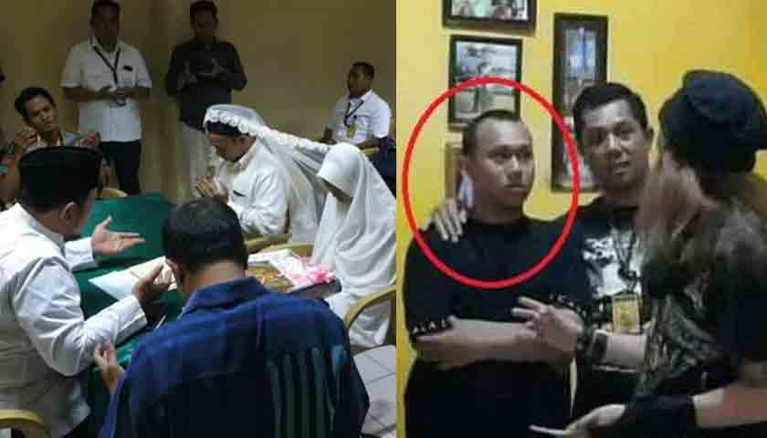 Ancam Penggal Kepala Jokowi, Pelakunya Nikah di Sel Rutan