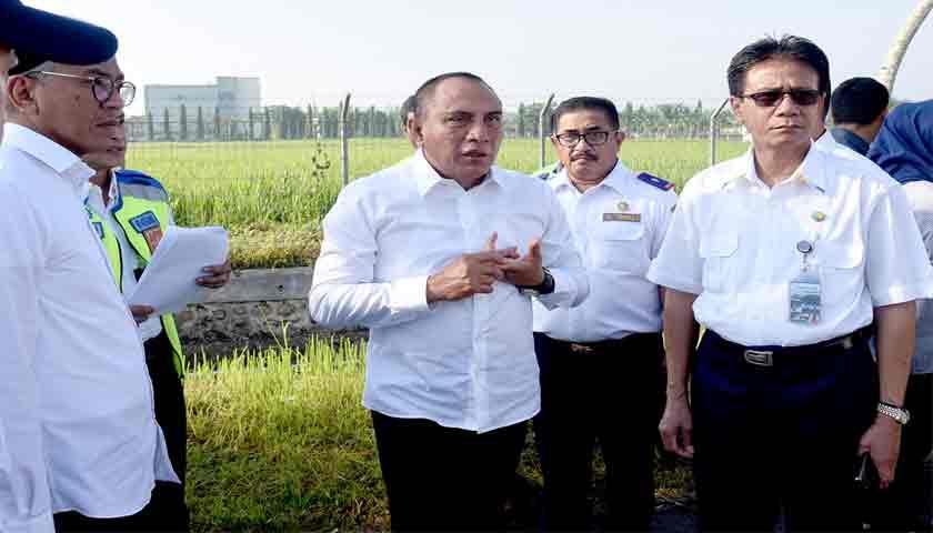 Pemprovsu Akan Bangun Fasilitas Gedung VIP di Bandara Kulananamu