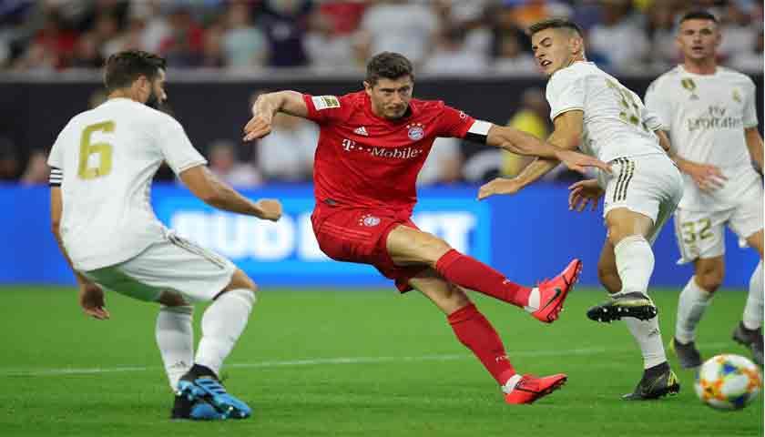Bayern Munich Tampil Garang Libas Real Madrid 3-1 di ICC 2019