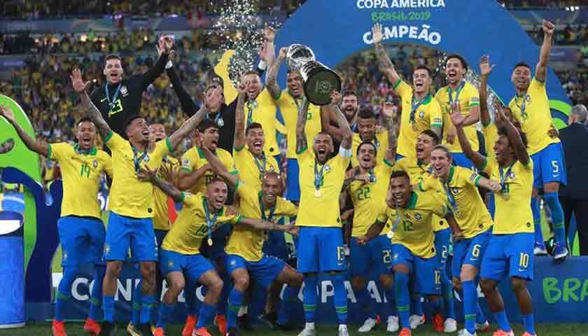 Libas Peru 3-1, Brasil Juara Copa America 2019