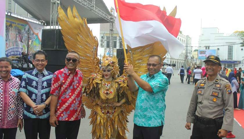 Colourful Medan Carnival 2019 Meriahkan HUT Kota Medan ke-429