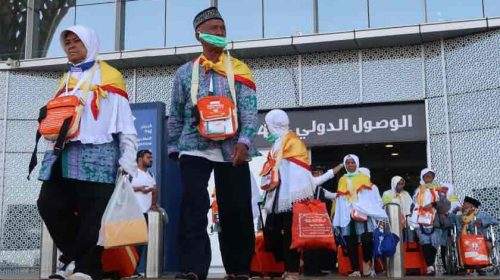 Sudah 48.368 Jemaah Haji Indonesia Tiba di Madinah