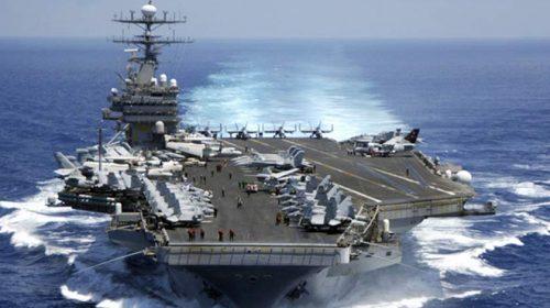 Empat Kapal Perang Terus Cari Pelaut AS yang Hilang di 'Pintu' Iran