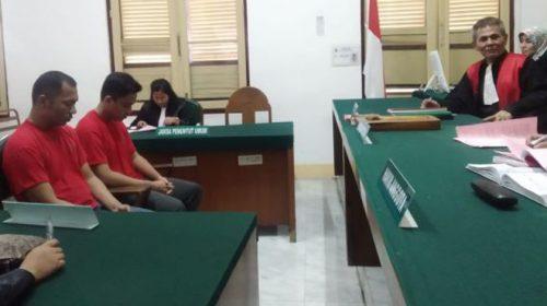 Terdakwa Tidak 'Dibon', Putusan Oknum Polisi Bawa 14,8 Kg Sabu Ditunda
