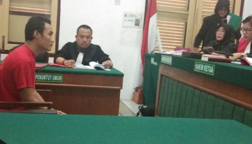 Terdakwa 'Disental' Hakim, Bukan Alasan Kurir Sabu untuk Cicilan Sepeda Motor
