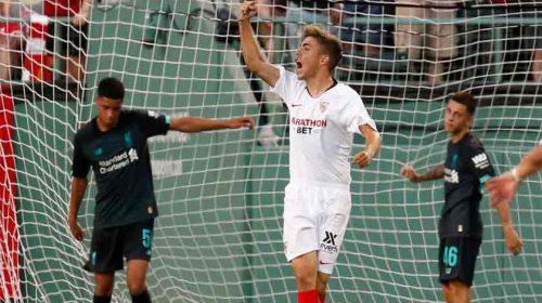 Liverpool Dipecundangi 10 Pemain Sevilla 1-2 di Laga Pramusim 2019