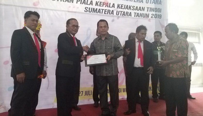 HKBP Tanjung Sari, GKPN Nias, dan GPP Medan Juara Paduan Suara Piala Kajatisu